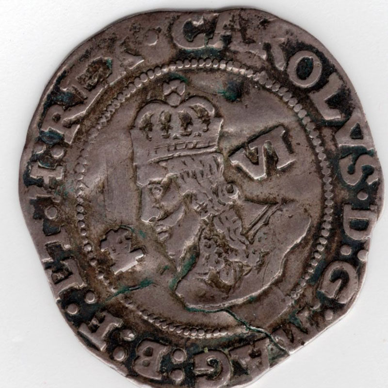 Sixpence (Hammered)