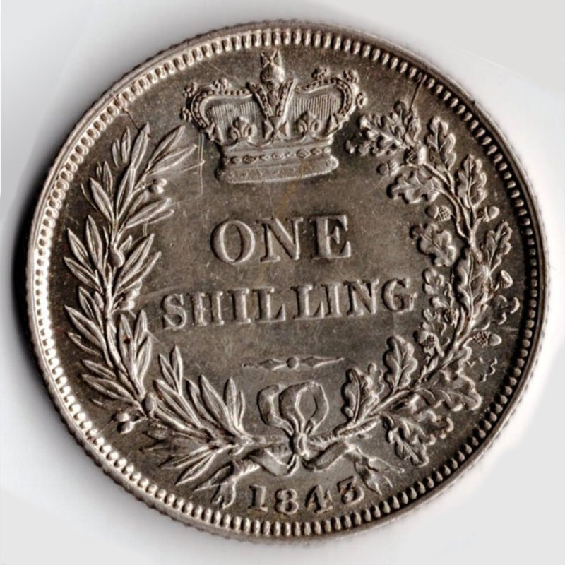 Shilling (Milled)