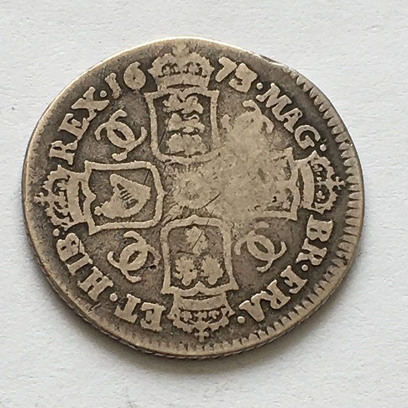 Shilling 1673/2