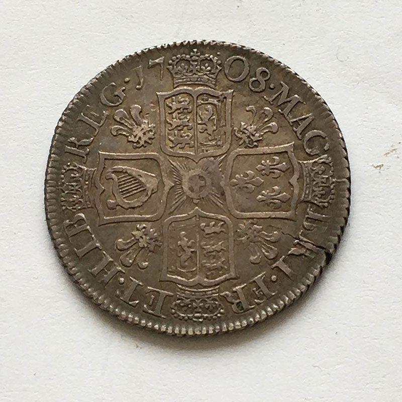 Shilling 1708
