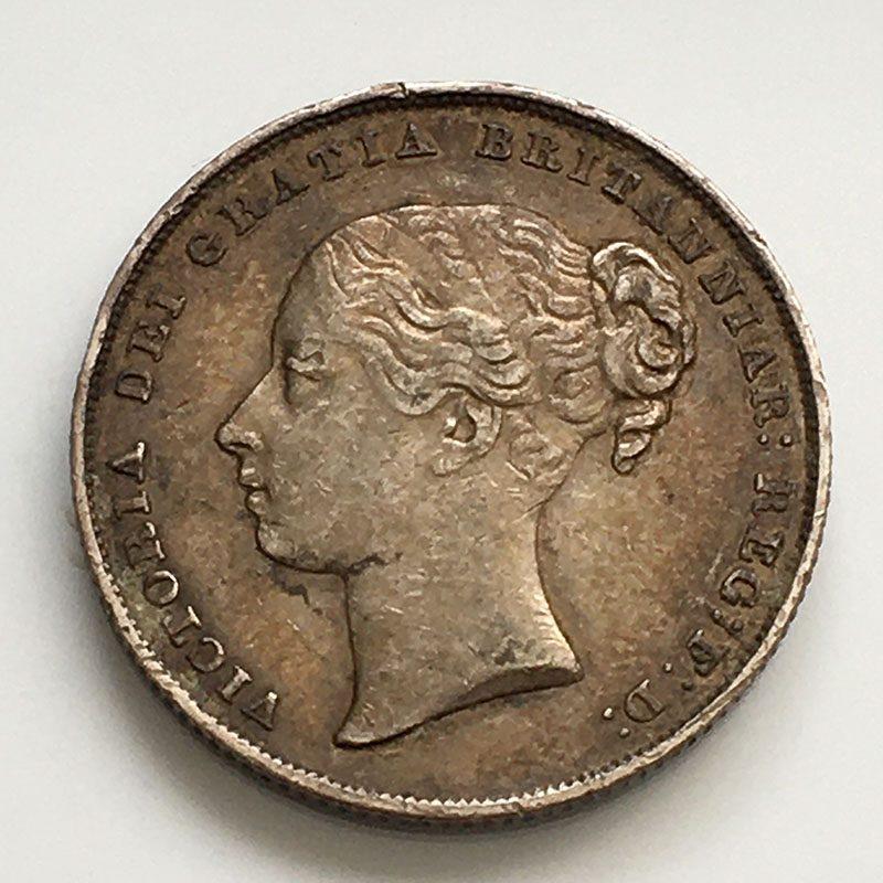Shilling 1848/6