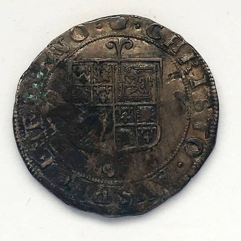Hammered Halfcrown Charles II