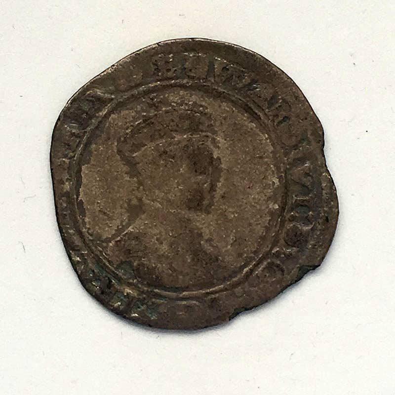 Hammered Shilling Edward VI