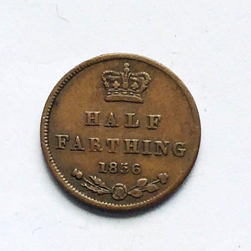 1/2 Farthing 1856