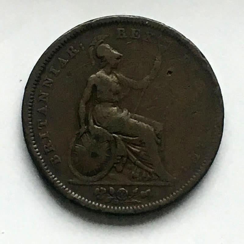 Penny 1827