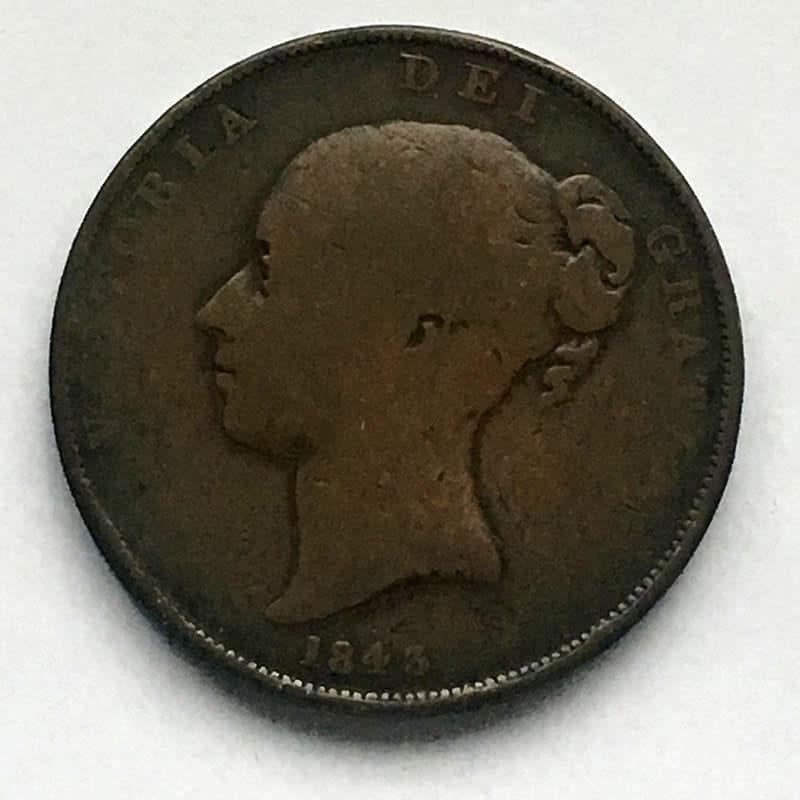 Penny 1843