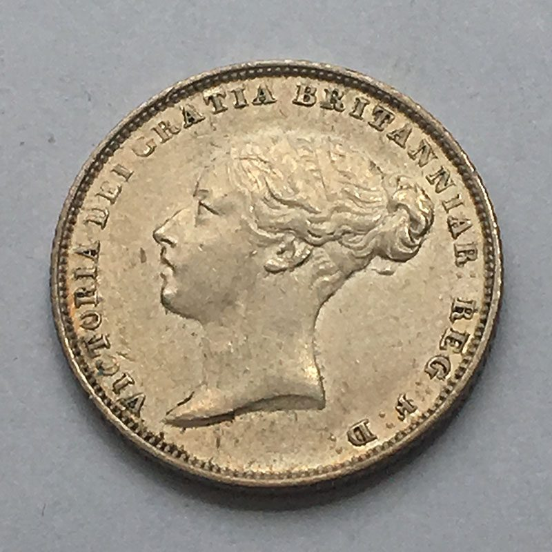 Sixpence 1843