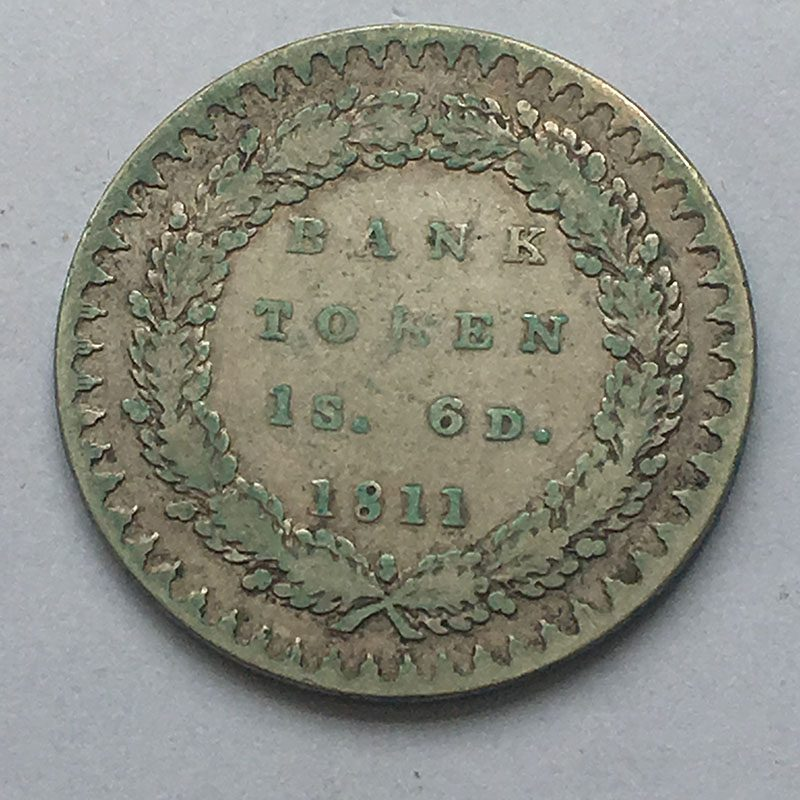 1 Shilling 6 Pence 1811