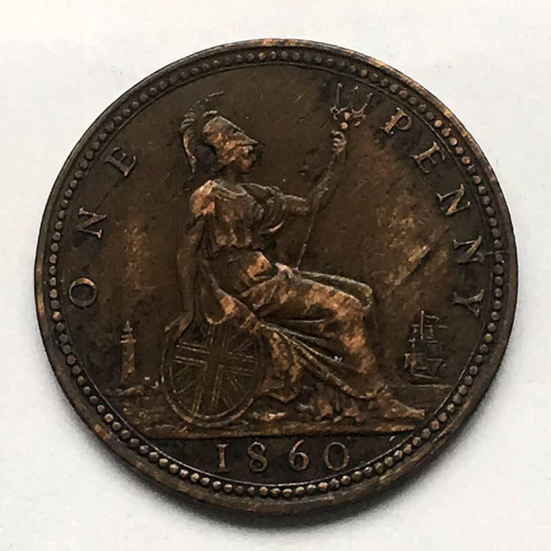 Penny 1860 F7