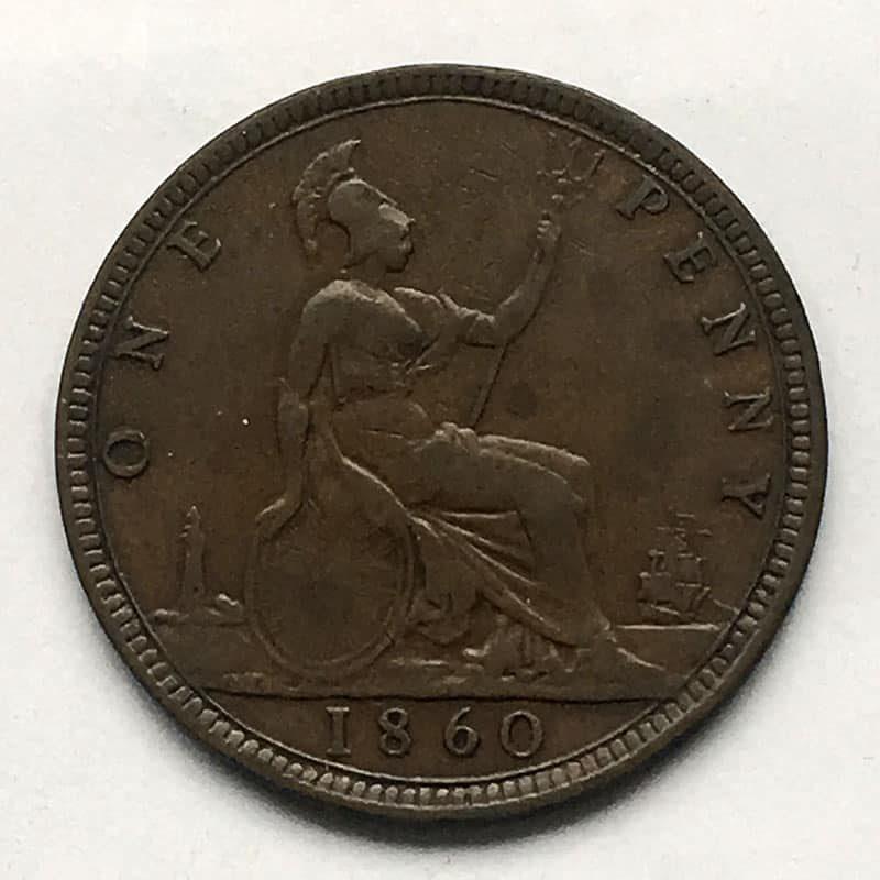 Penny 1860 F17