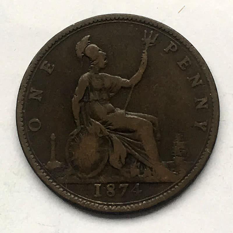 Penny 1874 F78