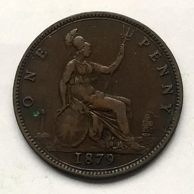 Penny 1879