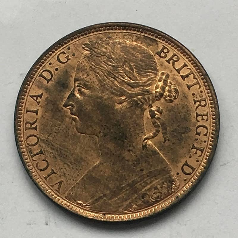 Penny 1889