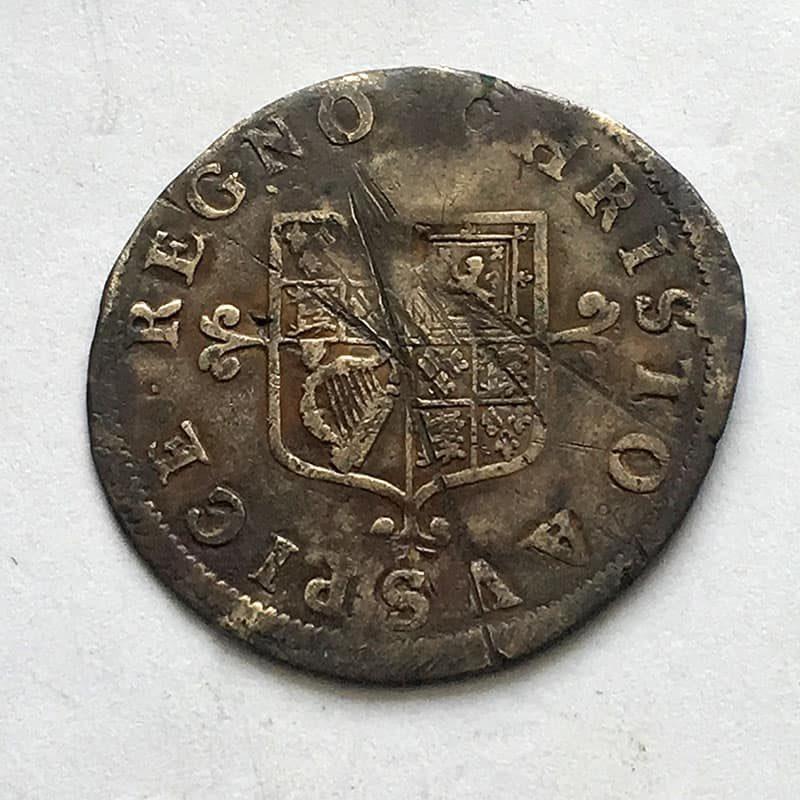 Hammered Shilling Charles II