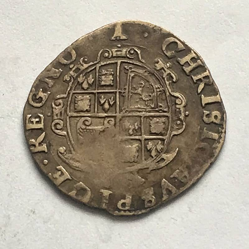 Hammered Sixpence Charles I