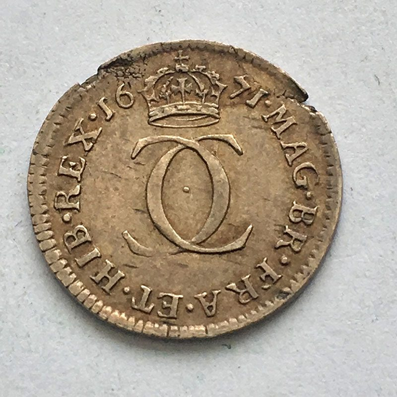 Maundy 2 Pence 1671