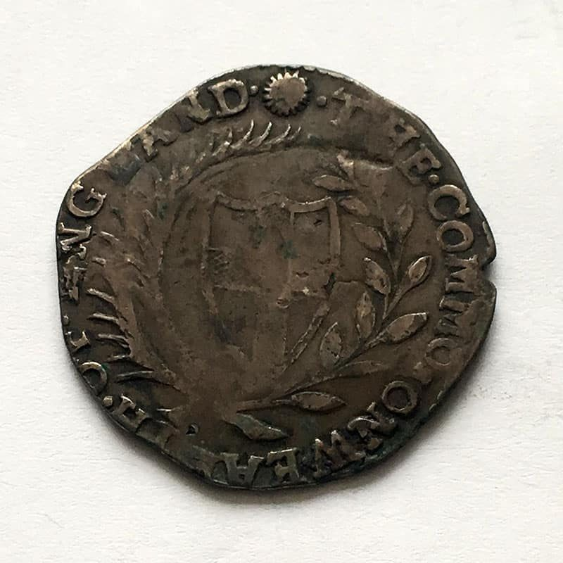 Hammered Halfcrown 1656