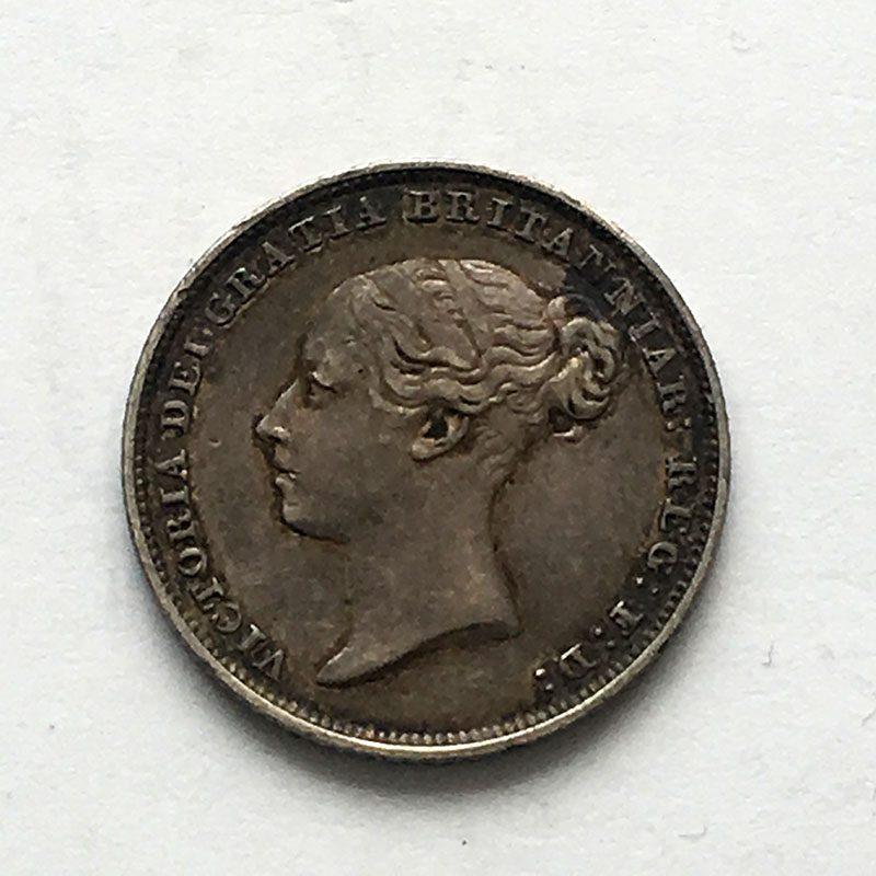 Sixpence 1848/6