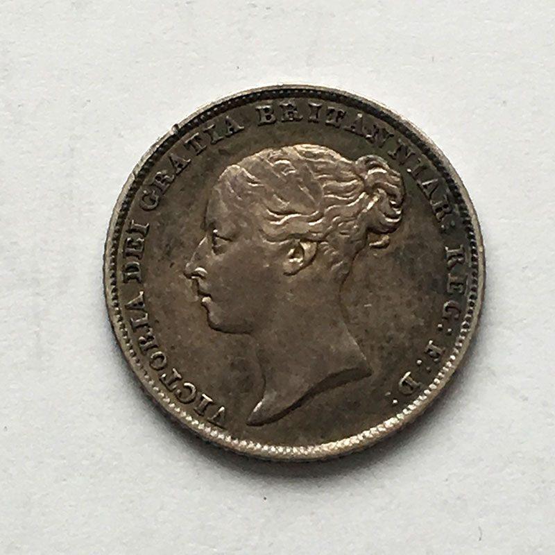 Sixpence 1848/7