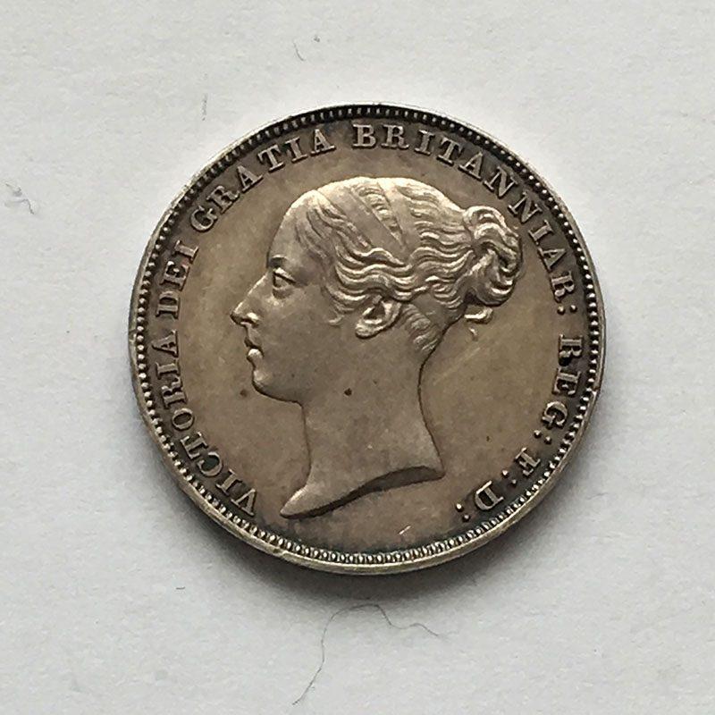 Sixpence 1839