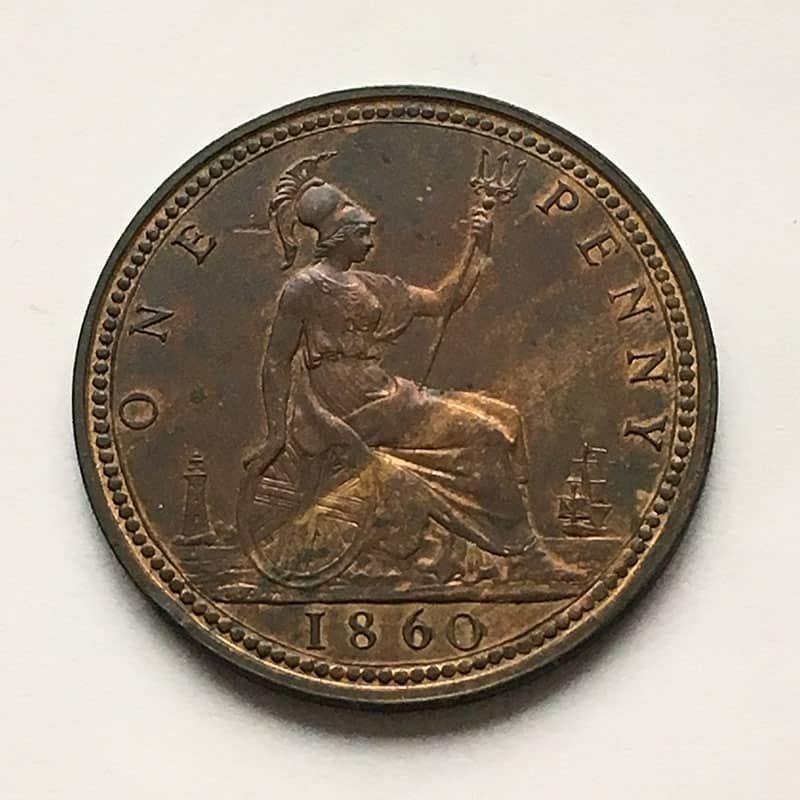 Penny 1860 F6