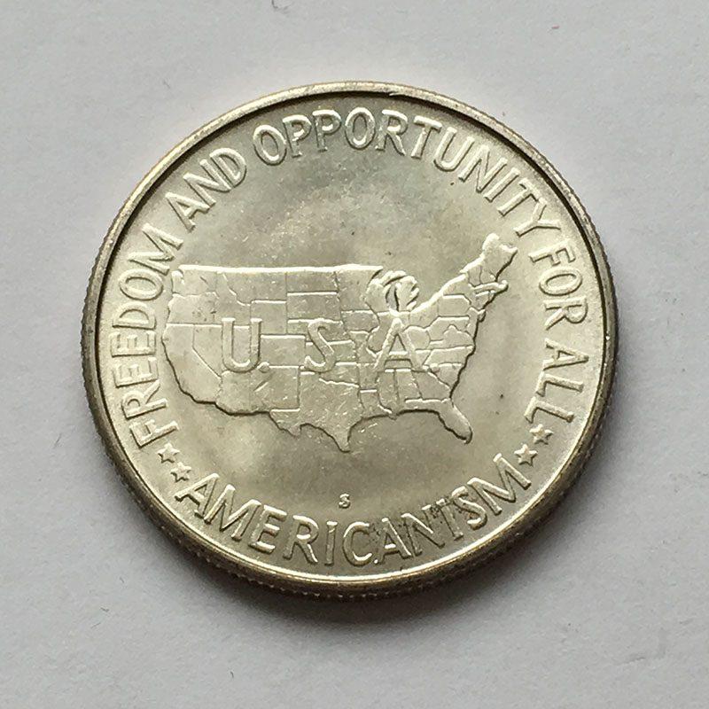 USA 1/2 Dollar 1954