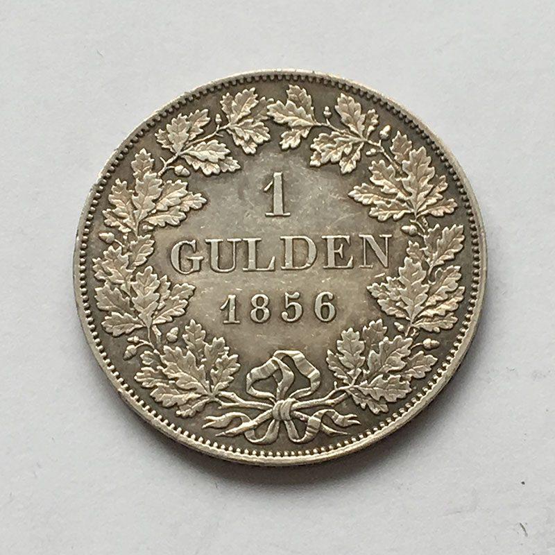 German States Bavaria Gulden 1856