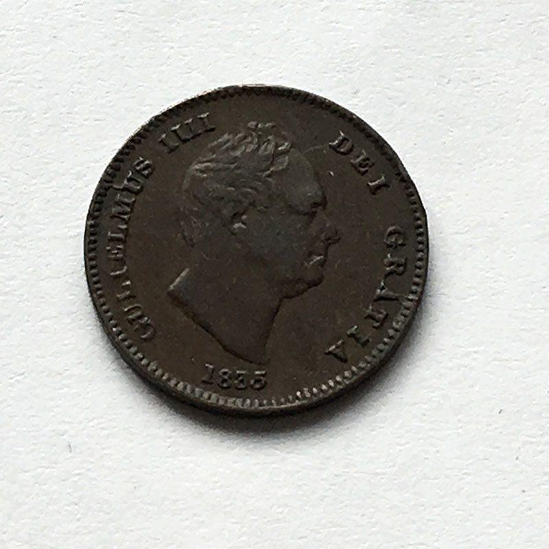 1/3 Farthing 1835