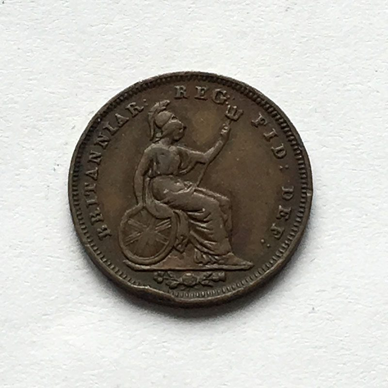 1/3 Farthing 1844