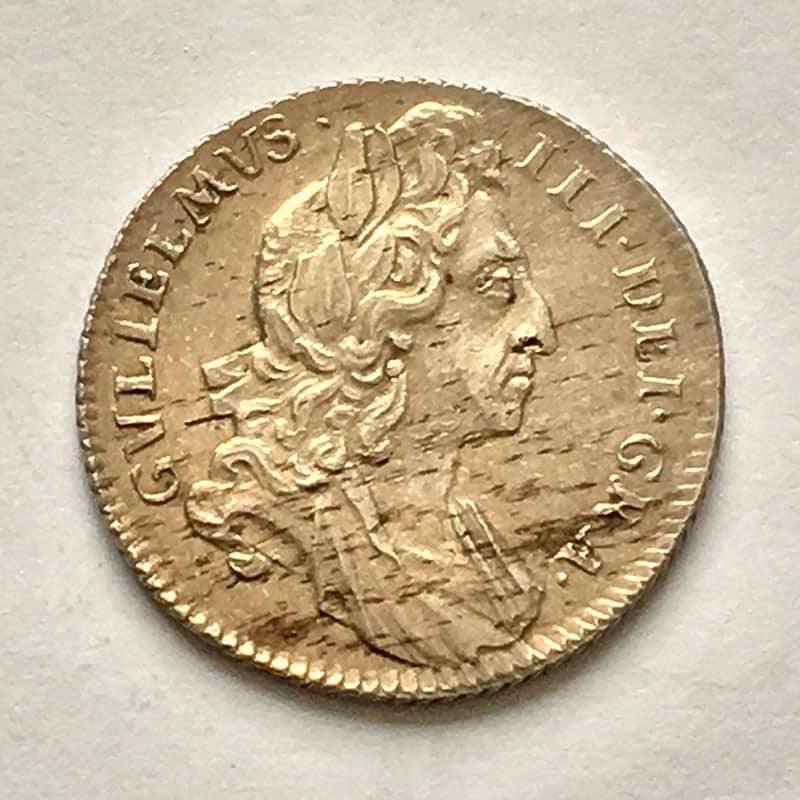 Sixpence 1696