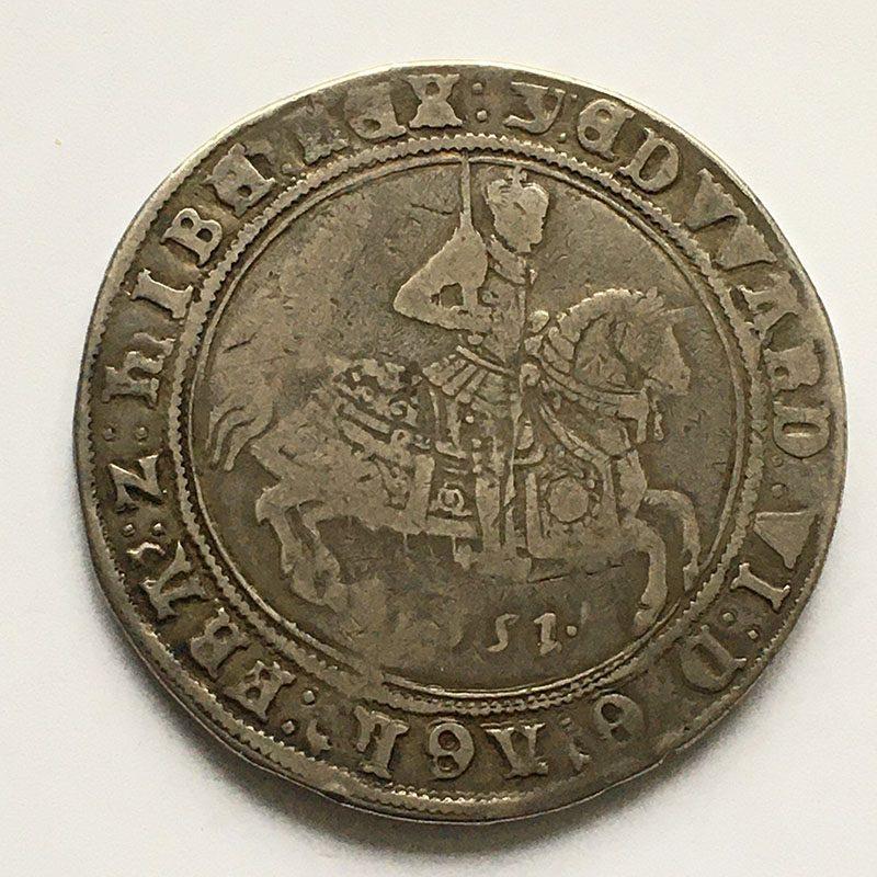 Hammered Crown 1551