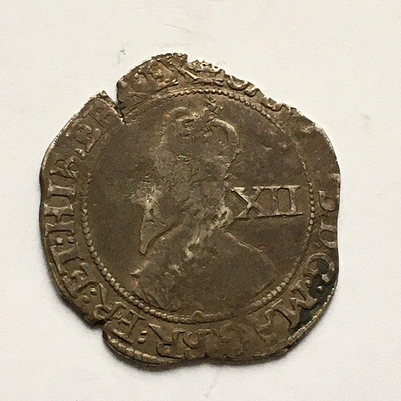 Hammered Shilling 1642