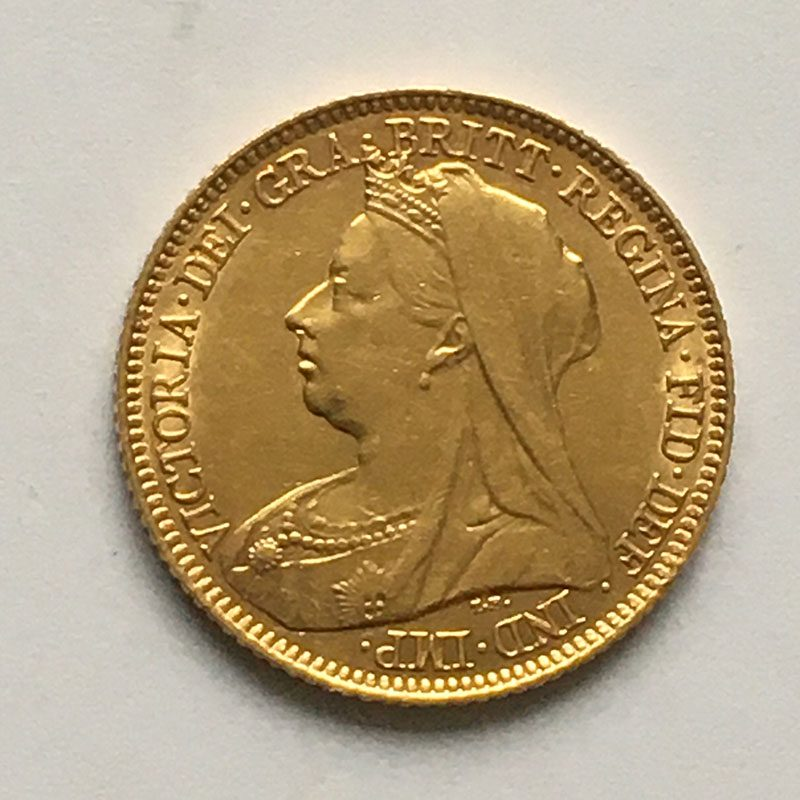 Half Sovereign 1897 S