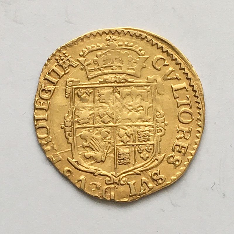 Hammered double Crown Charles I