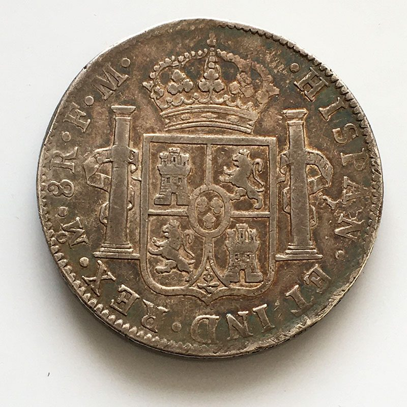 Mexico 8 Reales 1797
