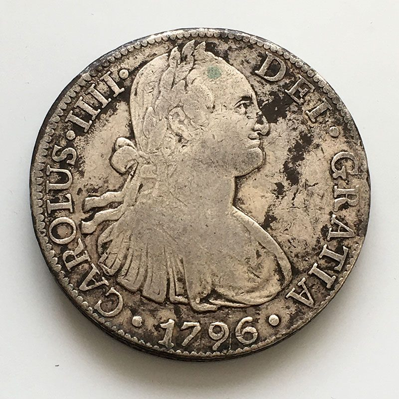 Mexico 8 Reales 1796