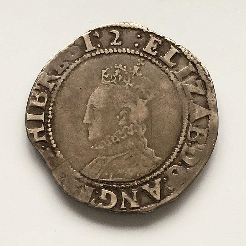Hammered Shilling Elizabeth I