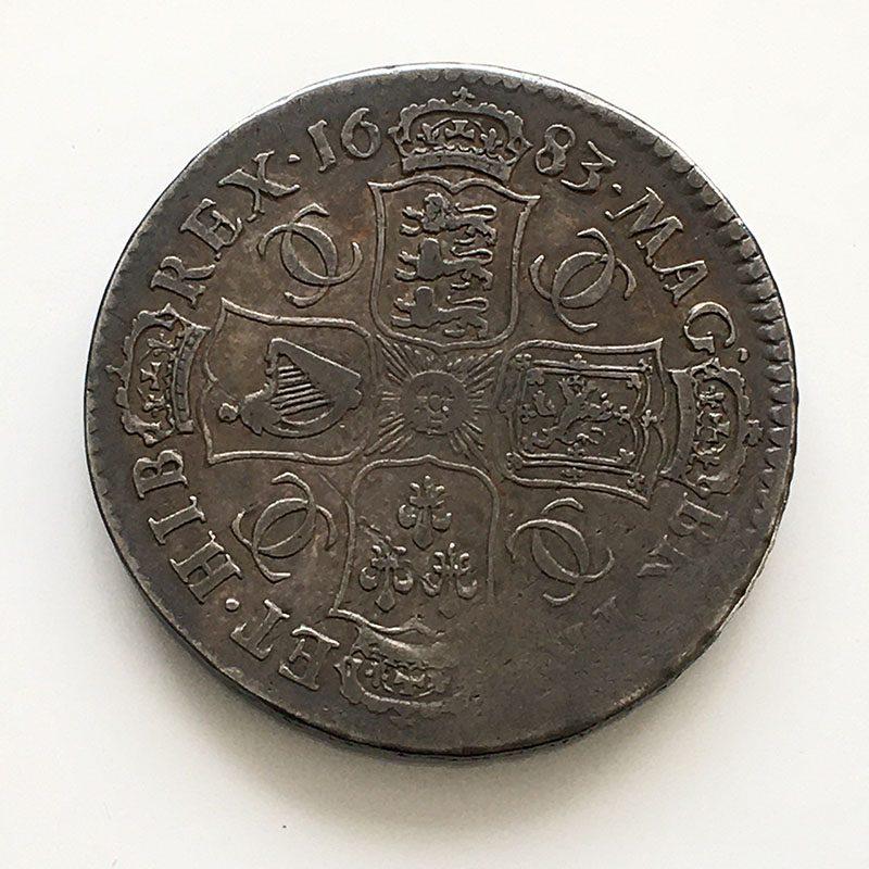 Halfcrown 1683