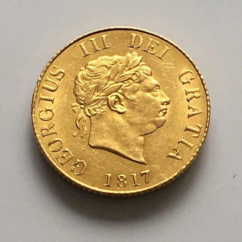 Half Sovereign 1817