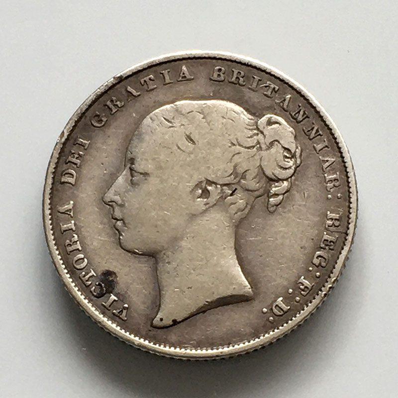 Shilling 1854
