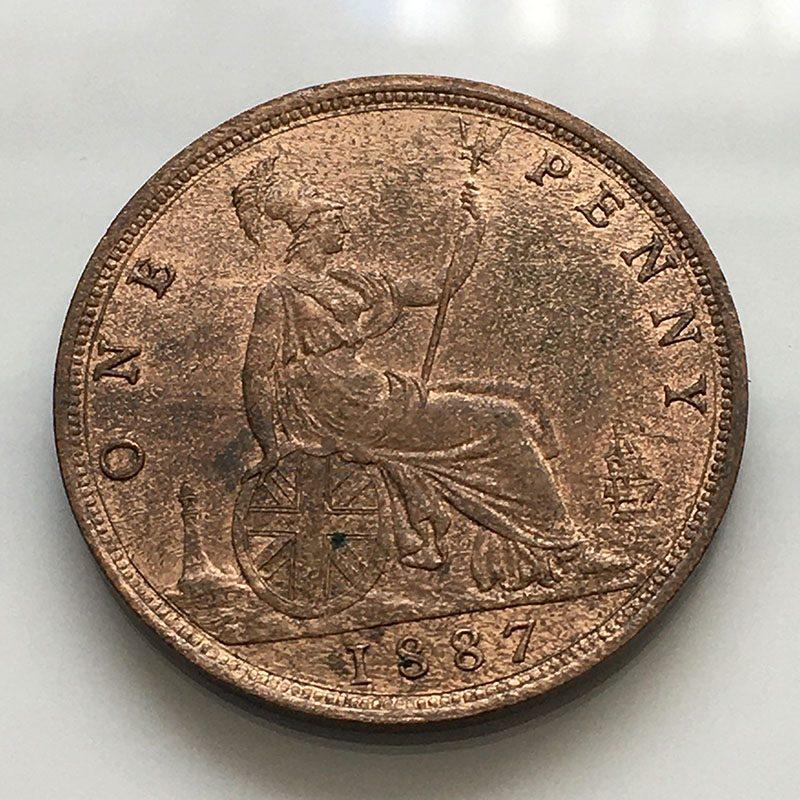 Penny 1887