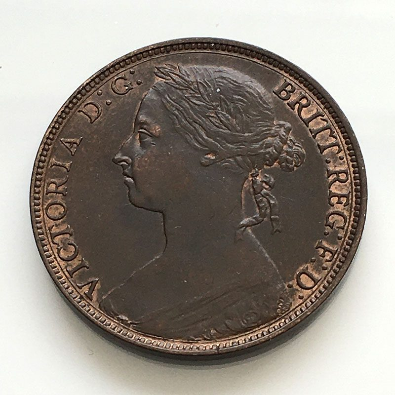 Penny 1882 H