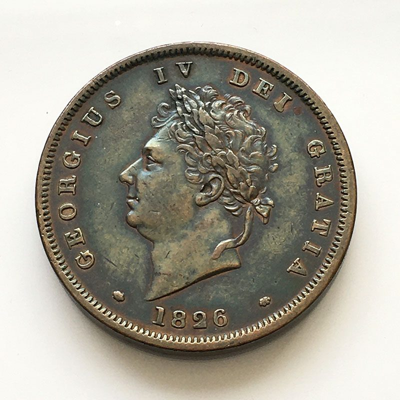 Penny 1826