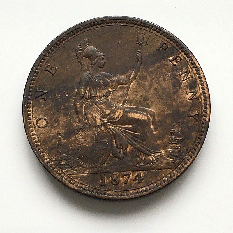 Penny 1874