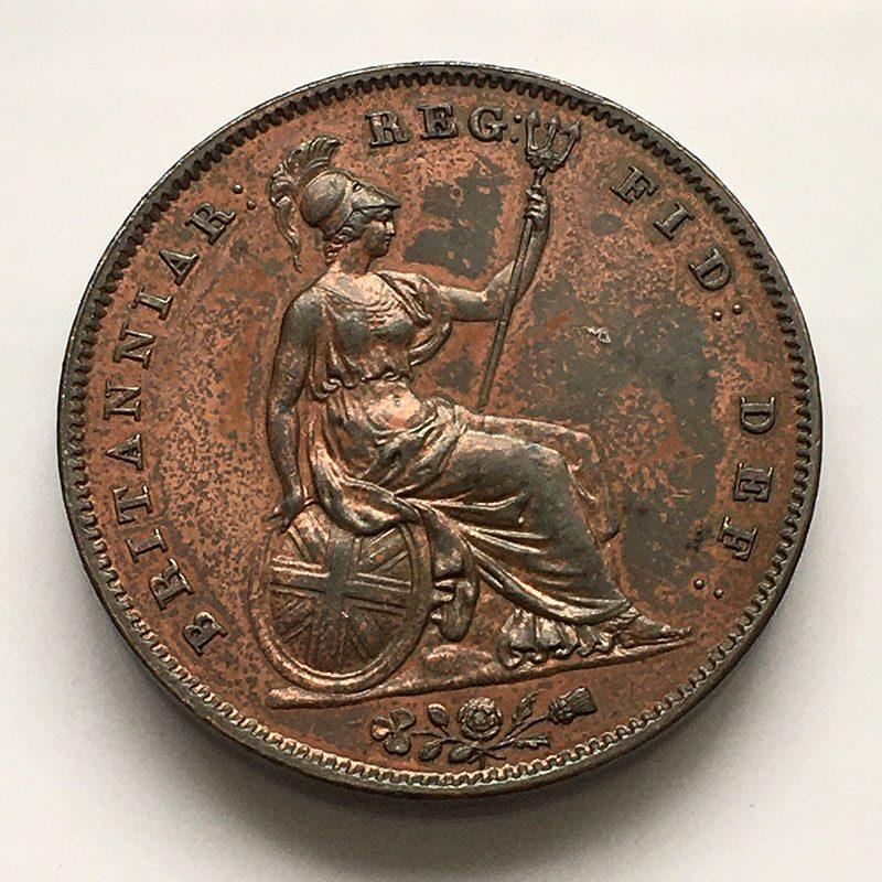 Penny 1844