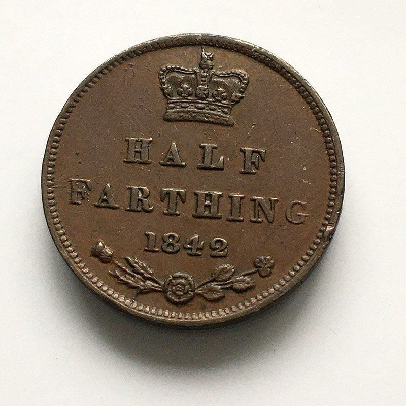 1/2 Farthing 1842