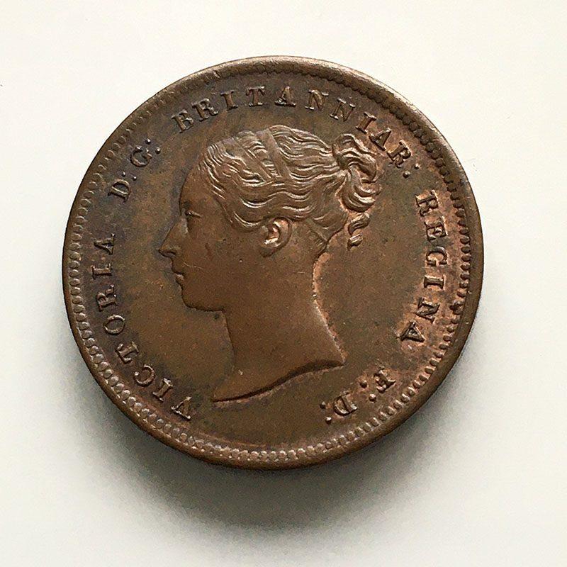 1/2 Farthing 1847