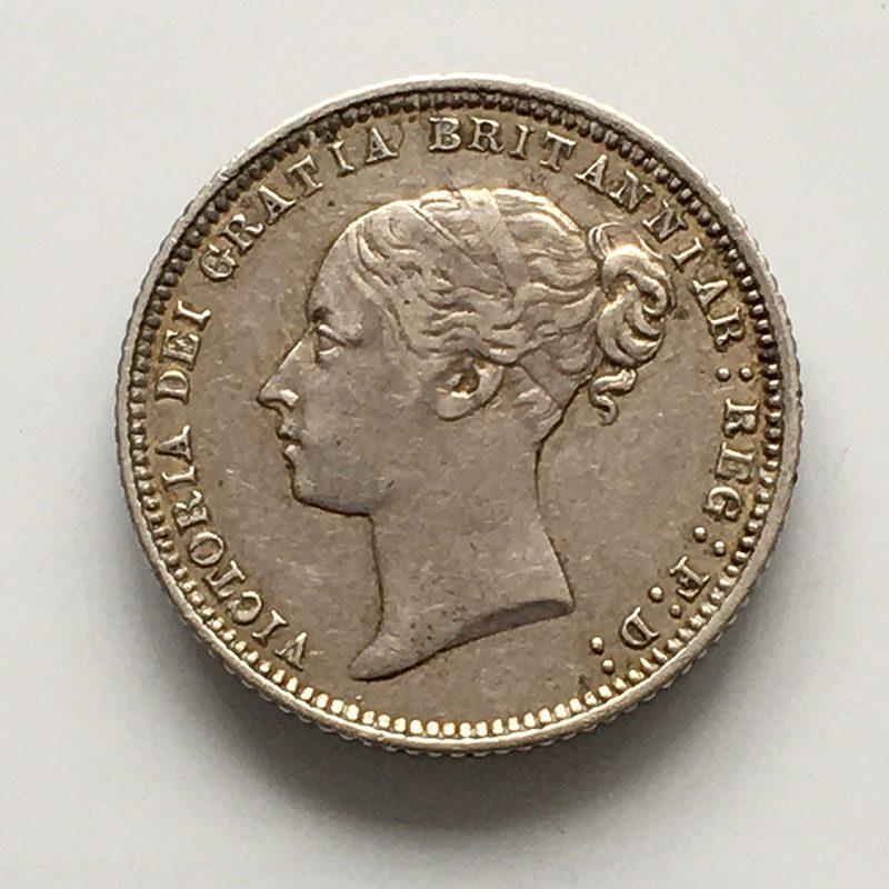 Sixpence 1871