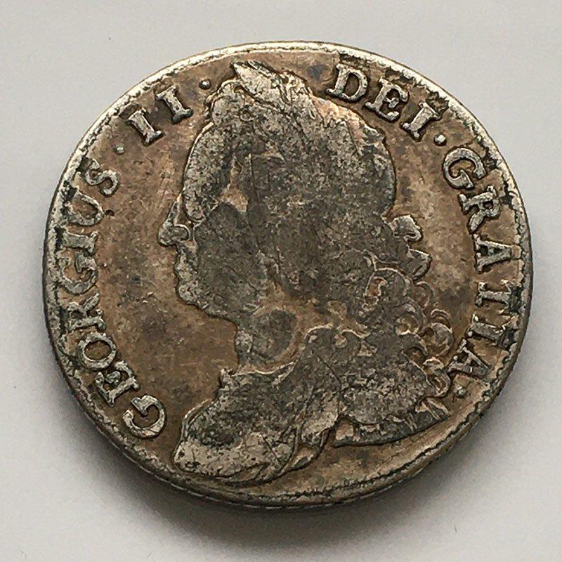 Shilling 1743/1