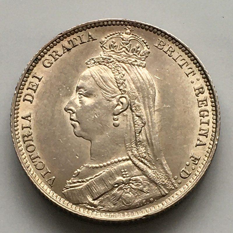Shilling 1892